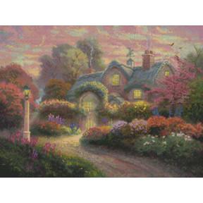 Набор для вышивки Candamar Designs 51648 Rosebud Cottage фото