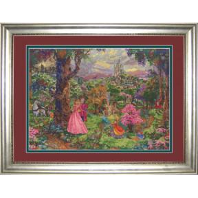 Набор для вышивки Candamar Designs 52508 Sleeping Beauty фото
