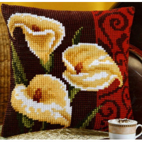 Набор для вышивки подушки Vervaco 1200/993 Цветок калла фото