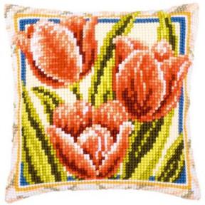 Набор для вышивки подушки Vervaсo PN-0001125 Три тюльпана фото