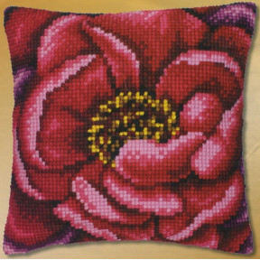 Набор для вышивки подушки Vervaсo PN-0008499 Пион фото