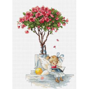Набор для вышивки Luca-S B1115 Розы