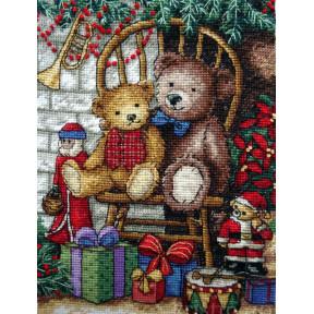 Набор для вышивания крестом Classic Design Новогодние подарки 4377