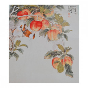 Набор для вышивки крестом XIU CRAFTS 2800123 Поспевшие яблоки
