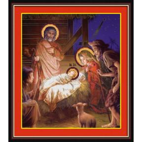 Набор для рисования камнями 5D-030 Lasko Рождество Христово фото