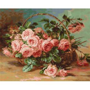 Набор для вышивки гобелена Luca-S G547 Корзина с розами