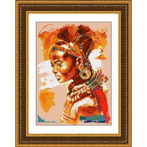 Набор для рисования камнями Lasko TL016 Африканка фото