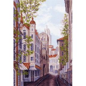 Набор для вышивания Матренин Посад 1482Н Московские улочки фото
