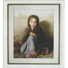 Набор для вышивки гобелена Luca-S G513 Портрет девочки