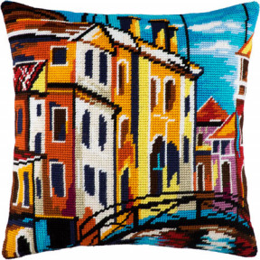 Набор для вышивки подушки Чарівниця V-133 Венеция