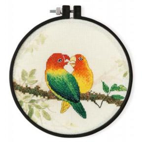 Набор для вышивки крестом XIU CRAFTS 2801906 Любовь фото