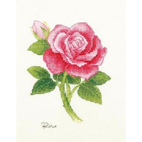 Набор для вышивки крестом XIU CRAFTS 2801701 Роза фото