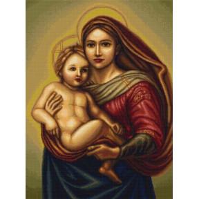 Набор для вышивки крестом Luca-S  Сикстинская Мадонна B419