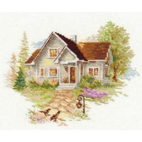 Набор для вышивки крестом Алиса 3-20 Июльский домик