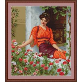 Набор для вышивки крестом Luca-S  Летние цветы  B474