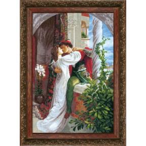 """Набор для вышивки крестом Чарівна Мить ВТ-034 По мотивам Фрэнка Бернарда Дикси """"Ромео и Джульетта"""""""