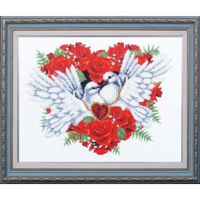 Набор для вышивания бисером Магия Канвы Б-309 С любовью! фото