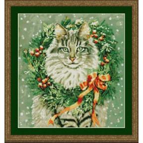 Набор для вышивания  Kustom Krafts 99387 Мисс Декабрь