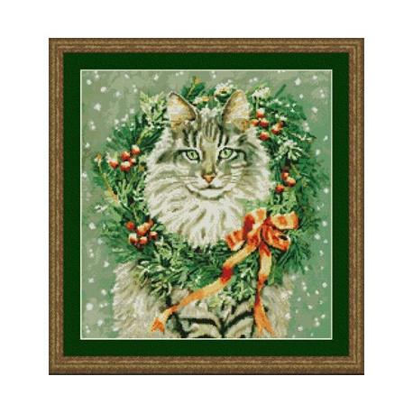 Набор для вышивания Kustom Krafts 99387 Мисс Декабрь фото