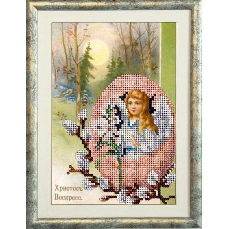 Набор для вышивания КиТ 40316 Пасхальный ангел фото