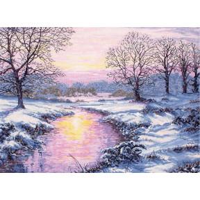 """Набор для вышивания Anchor MAIA 01013 """"Winter Sunset/Зимний"""