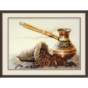 Набор для вышивки крестом Овен 880 Запах кофе