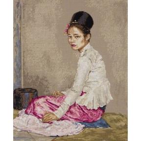 """Набор для вышивания Anchor MAIA 01146 """"Burmese Silk/Бирманский"""
