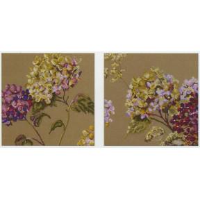 Набор для вышивания Anchor MAIA 01047 Quiet Time Hydrangea Set