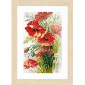 Набор для вышивания Lanarte PN-0156301 Poppies