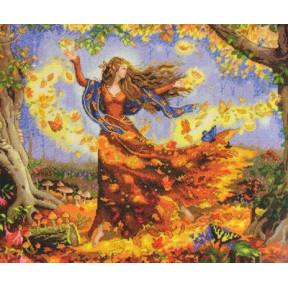 Набор для вышивки крестом Dimensions 70-35262 Fall Fairy