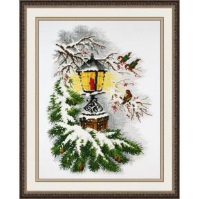 Набор для вышивки крестом Овен 867 Волшебный фонарь