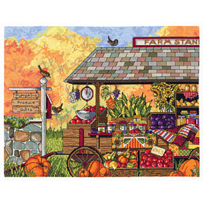 Набор для вышивания Janlynn 017-0111 Buck's County Farm Stand