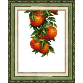 Набор для вышивания крестом  Чарівна Мить ВТ-138 Солнечные апельсины