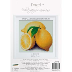 Набор для вышивки крестиком Dantel 003Ф Лимон
