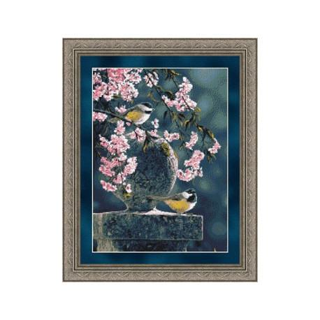 Набор для вышивания Kustom Krafts 73037 Spring Cascade фото
