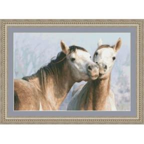 Набор для вышивания Kustom Krafts 97487 Поцелуй фото