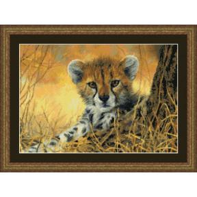 Набор для вышивания Kustom Krafts 98657 Little Baby Cheetah фото