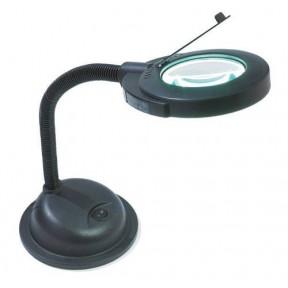 Настольная лампа с лупой DMC U1388E фото