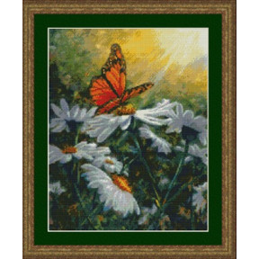 Набор для вышивания Kustom Krafts 99527 Butterfly Daisies фото
