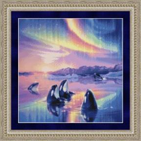 Набор для вышивания Kustom Krafts 99817 Morning Song-Orca