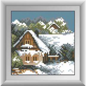 Набор для рисования камнями Dream Art. 30487 Зимний домик фото