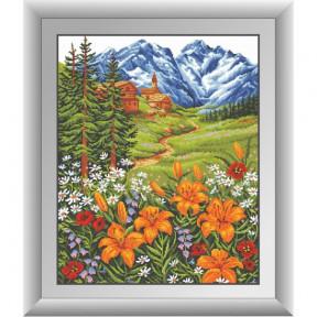 Набор для рисования камнями Dream Art 30480D Горные лилии фото