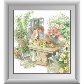 Набор для рисования камнями Dream Art 30477D На террасе фото