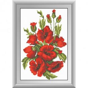 Набор для рисования камнями Dream Art. 30474 Цветущие маки фото