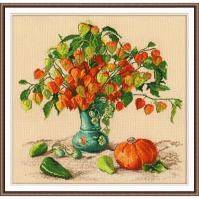 Набор для вышивки крестом Овен 987 Осенние фонарики