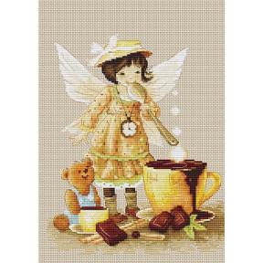 Набор для вышивки крестом Luca-S B1131 Горячий шоколад