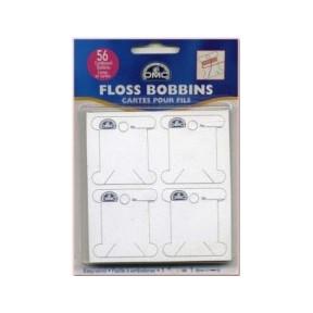 Бобины картонные DMC 6101/12 для мулине