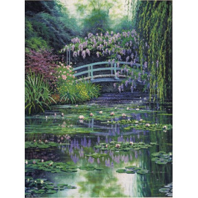 Набор для вышивки Candamar Designs 51308 Monet's Japanese