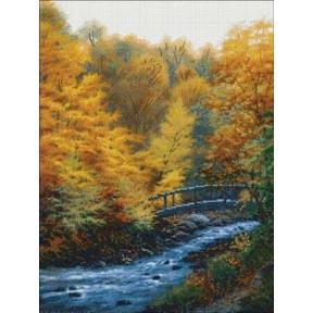 Набор для вышивки Candamar Designs 52417 Autumn Stream фото