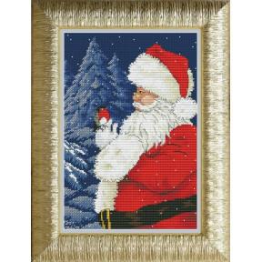 Набор для вышивания крестиком OLanTa VN-061 Санта, приходи!
